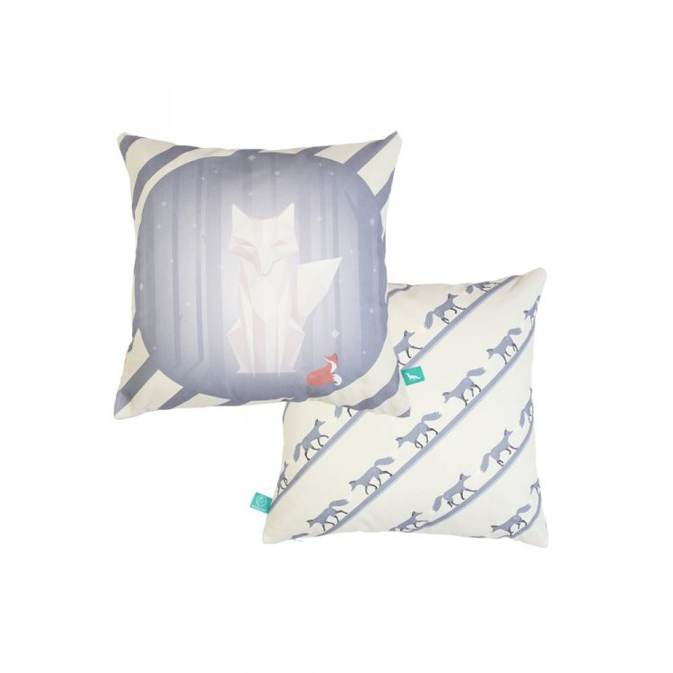 """""""1001 Nights Of Snow"""" Cushion Cover"""