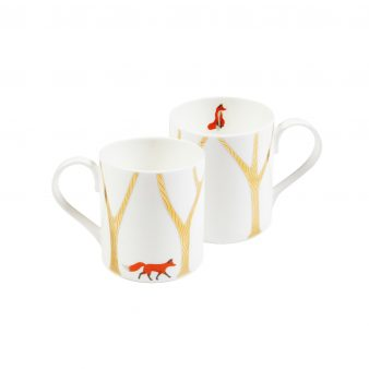 """The Fox & The Kintsugi Forest"" Mug"
