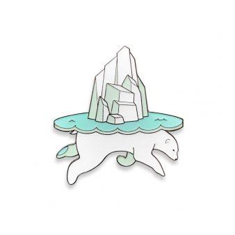Polar Bear Opposite Quinn pins