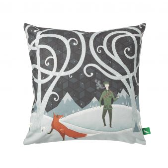 "The Fox And The Lost Soldier"" Cushion"