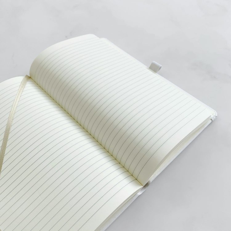 Spectrum Hardback Notebook inside