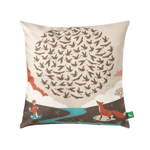 100 Starlings Rising Cushion